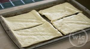 Crescent Pizza Pocket Dough Rectangles