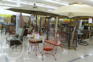 Kmart Outdoor Living Section