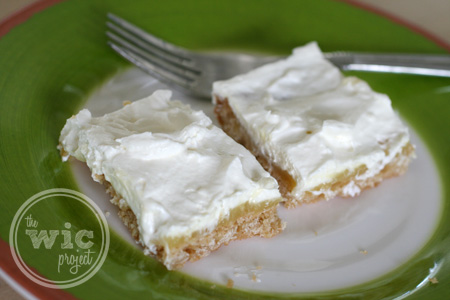 Mock Lemon Meringue Bars