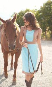 Shabby Apple Side Saddle Dress