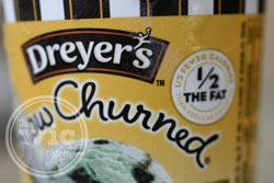Dreyer's Slow Churned Ice Cream 1/2 Fat