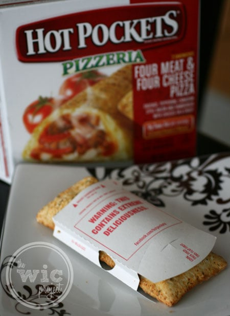 Hot Pockets Pizzeria Four Meat & Four Cheese Pizza