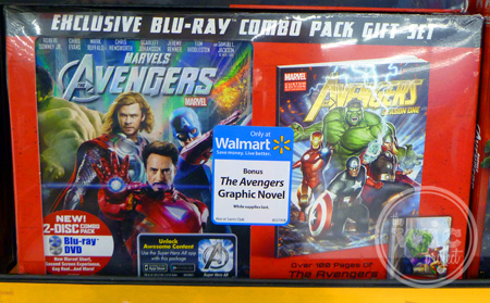 Marvel's The Avengers Blu-ray/DVD Gift Set