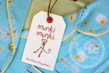 The Comfiest, Coziest Pajamas from munki munki