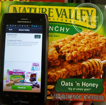Nature Valley Check in