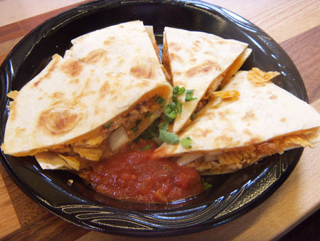 Ruffles Max Smokehouse BBQ Chicken Quesadillas