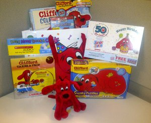 Clifford Birthday Prize Pack