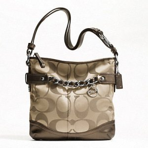 COACH Signature Chain Duffle