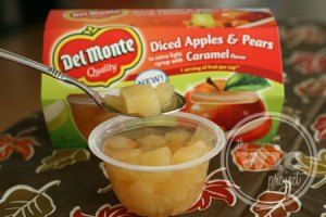 Del Monte Diced Apples & Pears with Caramel flavor