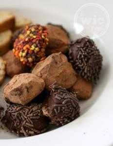 Milk Chocolate Cafe Truffles