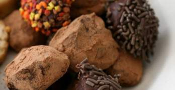 Milk Chocolate Cafe Truffles Recipe