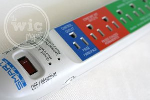 Smart Strip Surge Protector Control & Hot Outlets