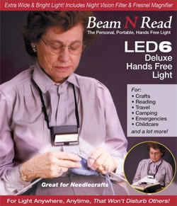 Beam N Read ® LED 6 Deluxe Hands Free Light