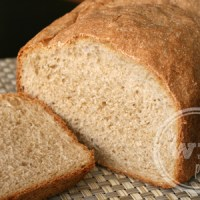 Homemade Simple Honey Whole Wheat Bread