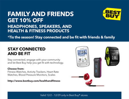 BestBuy December Coupon