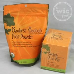 Baobab Fruit Powder and Baobab Drink Mix