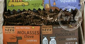 Gift Idea: Holiday Gift Towers and Tins from Dancing Deer Baking Company