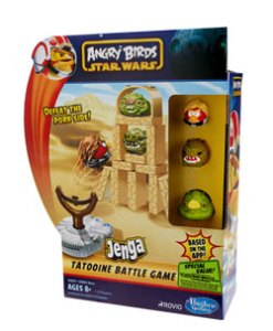 Angry Birds Star Wars Jenga Launchers