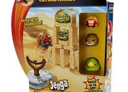 Play Angry Birds Star Wars Jenga Launchers