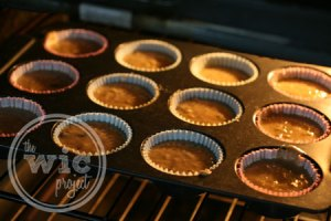 Bake Chocolate Chip Banana Muffins in Oven