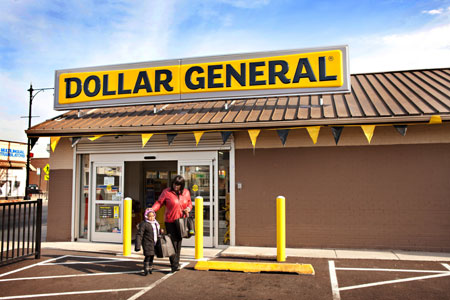 Sabrina Williams Outside Dollar General