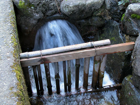 Water Flowing Out Pipe