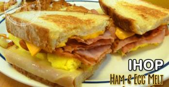 A Hearty Breakfast Sandwich with IHOP Griddle Melts #GriddleMelts