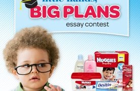 Win $5,000 in the Huggies® Little Hands, Big Plans Essay Contest