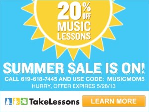 TakeLessons.com Summer Sale