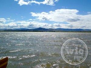 Boating on Helena Lake