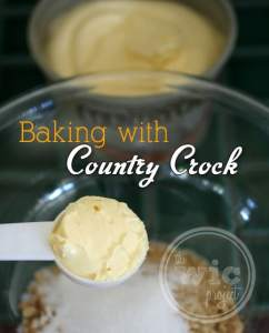 Baking with Country Crock