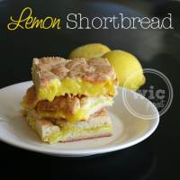 A Summer Treat - Lemon Shortbread #LuckyLeafLuckyMe