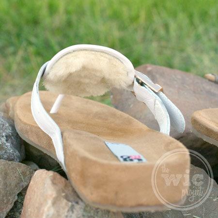 LAMO Sheepskin Footwear Garden Party Sandals