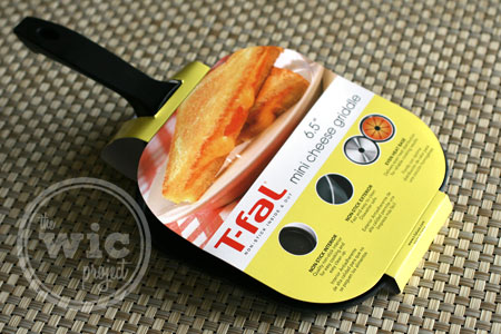 T-Fal Mini Grilled Cheese Griddle