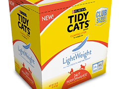 Get Rid of Heavy, Stinky Litter with Tidy Cats® Lightweight 24/7 Performance® Litter