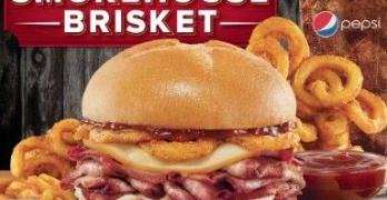 Have a Taste of Arby's New Smokehouse Brisket Sandwich