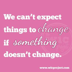 Change Something