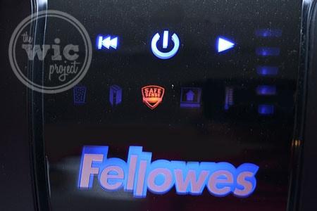 Fellowes 73ci Paper Shredder Multi-Touch Controls