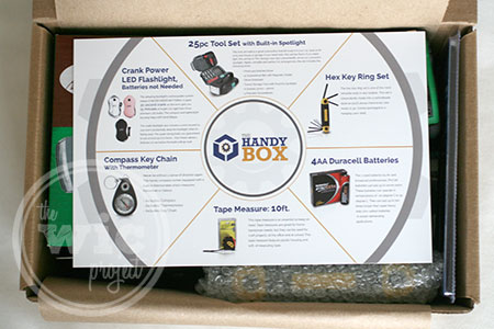 The Handy Box - Product Info Card