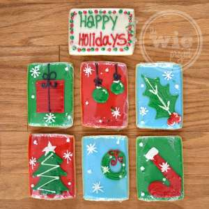 Cookies by Design Happy Holidays Bouquet