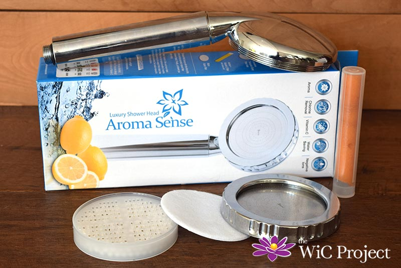 Relax with the Aroma Sense Luxury Shower Head