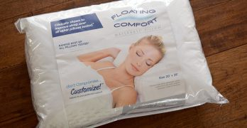Get Better Sleep with the Mediflow Floating Comfort Pillow + Giveaway