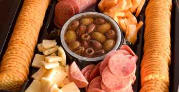 Enjoy Easy Game Day Appetizers with HORMEL GATHERINGS® Party Trays