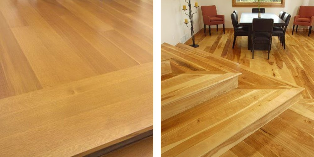 Design Ideas For Stairs To Match Your Custom Hardwood Floors | Prefinished Walnut Stair Treads | Hardwood Lumber | Hardwood | Wood Stair | Stair Parts | Brazilian Walnut