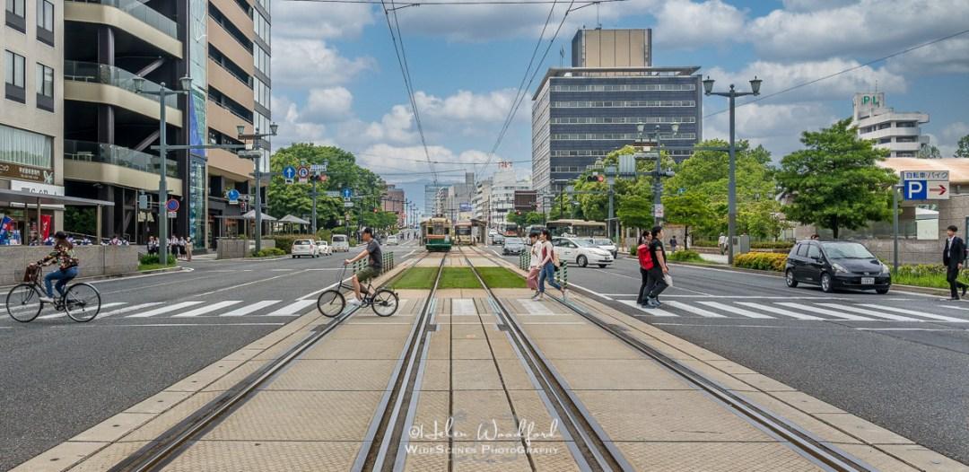 Street Scene in Hiroshima