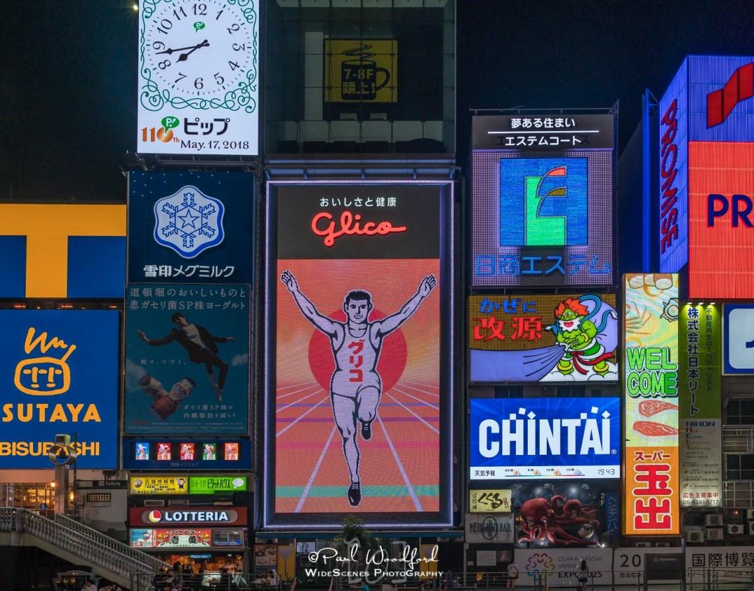 Glico Man, Dotonbori, Osaka, Japan
