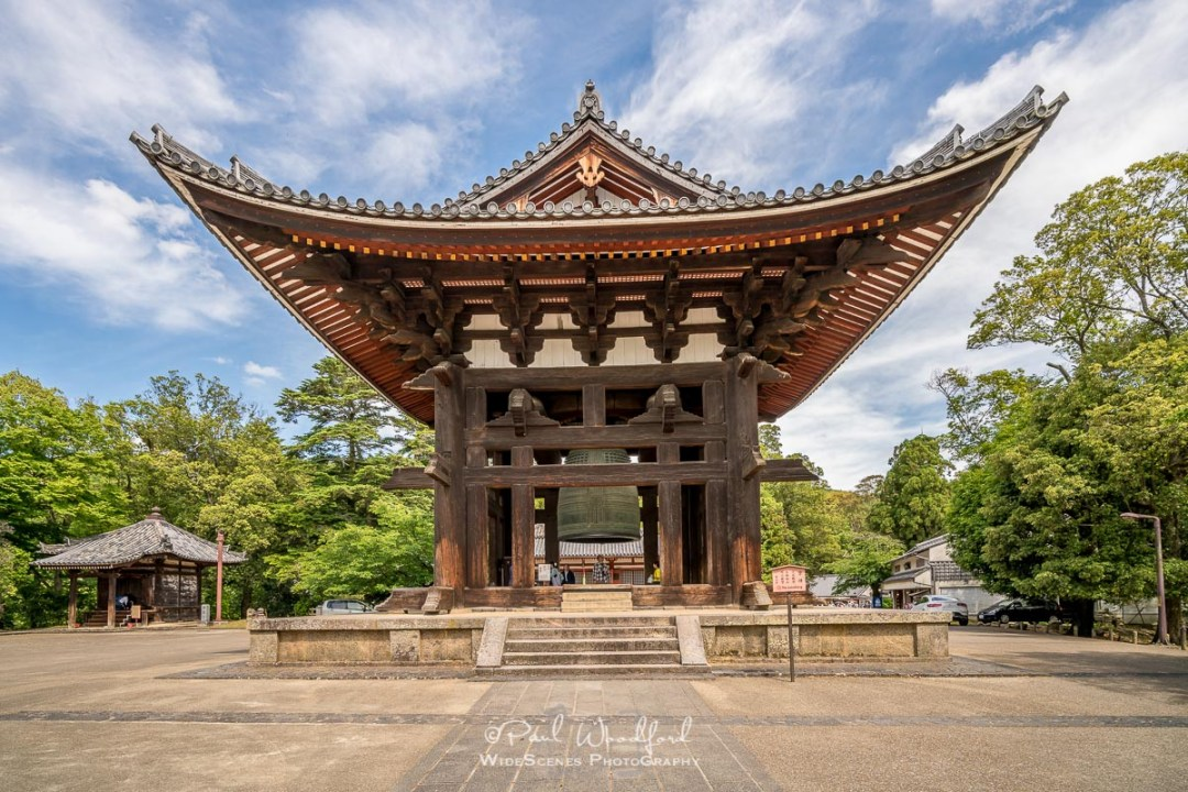 Tōdai-ji Bell Temple, Nara, Japan