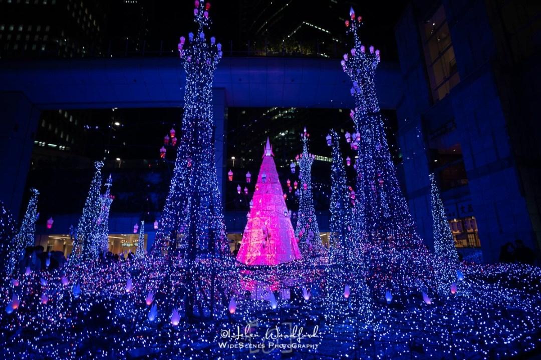 Caretta Shiodome Winter Illuminations, Tokyo
