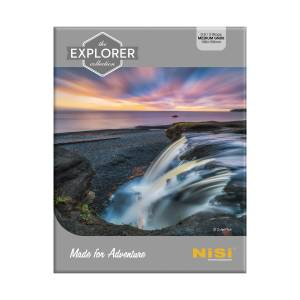 NiSi Explorer Collection 100x150mm Nano IR Medium Graduated Neutral Density Filter – GND8 (0.9) – 3 Stop