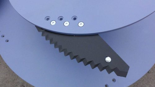 Carro mezclador cuchillas